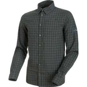 Mammut Lenni Longsleeve Shirt Men shadow-graphite